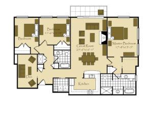 Triple Falls Floorplan