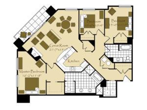 Tumblin Fun Falls Floorplan